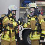 Feuerwehreinsatz vor unserer Praxis
